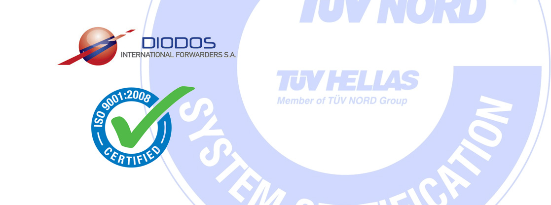 Diodos S.A. certified to ISO 9001:2008